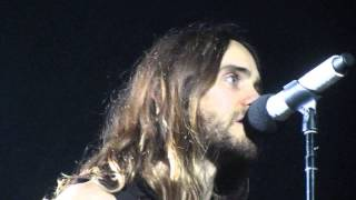 30 Seconds To Mars - Save Me + R-Evolve + Hurricane (Live at Hartwall Arena, Finland 8.3.2014)