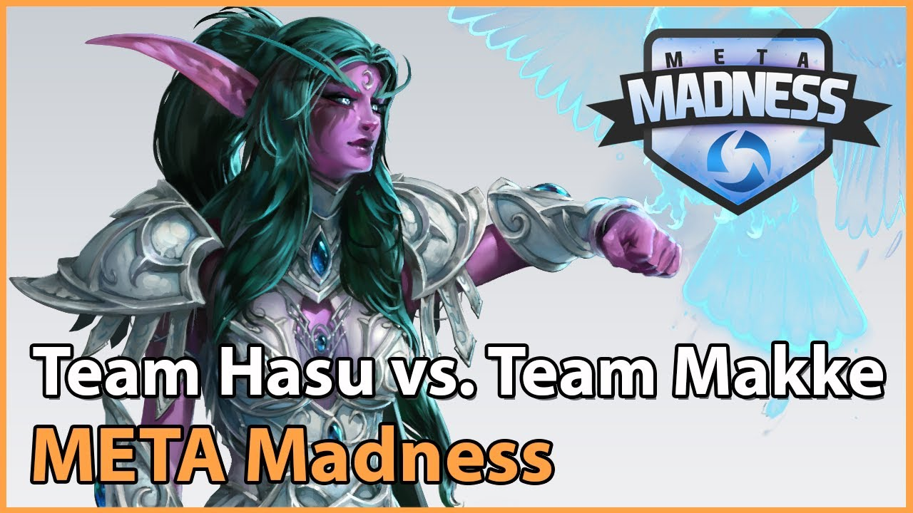 ► Team HasuObs vs. Team Makke - META Madness Groupstage - Heroes of the Storm Esports