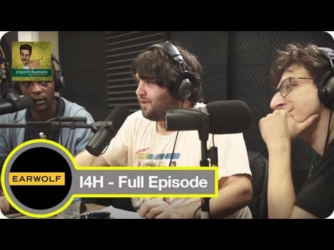 Lauren Lapkus, Paul Rust, John Gemberling and Brandon Johnson Improv4humans  Video Podcast Network