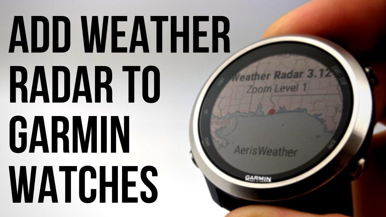 Weather Radar Widget | Garmin Connect IQ
