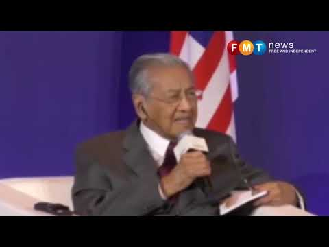 We are not against China firms, says Mahathir
