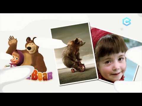 Gambar Animasi Masha And The Bear