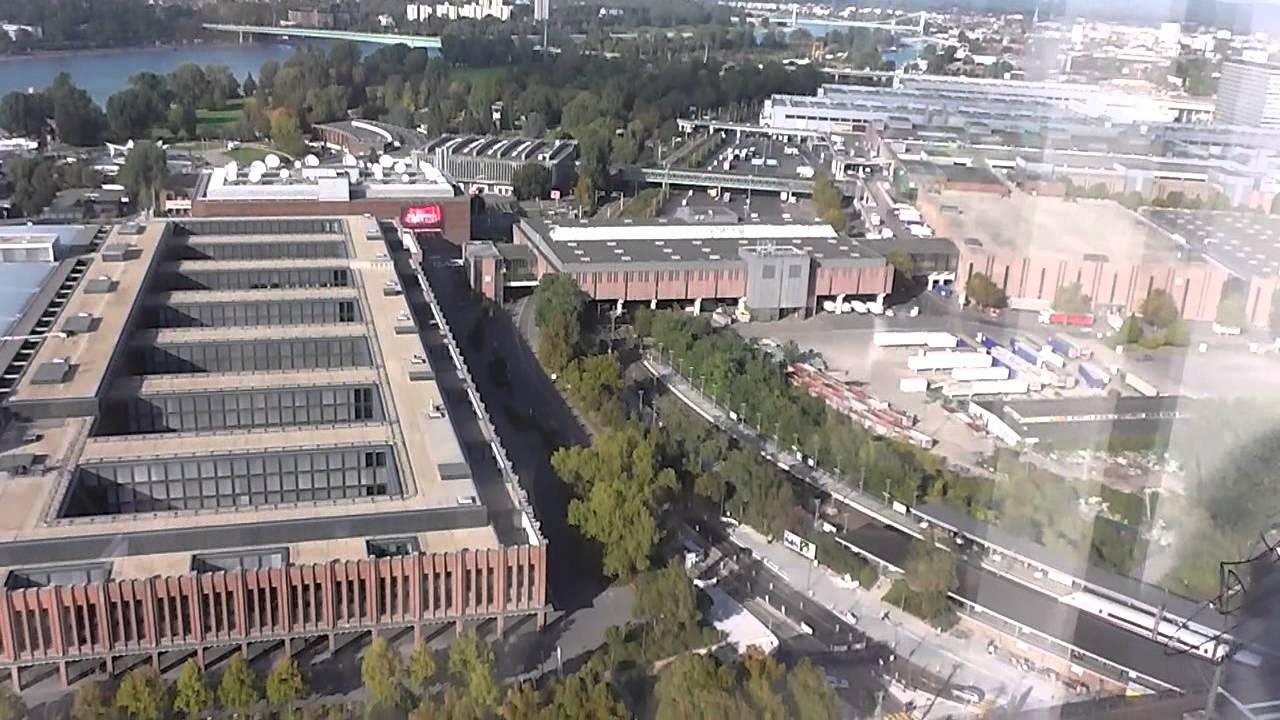 kolntriangle panorama koln von oben