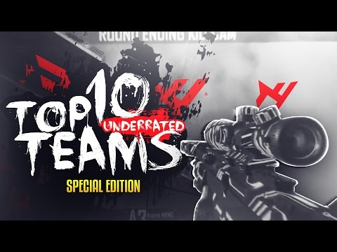 Red Scarce: TOP 10 UNDERRATED TEAMS! Week #50 - SPECIAL! BO2 / Black Ops 2 Trickshot Montage