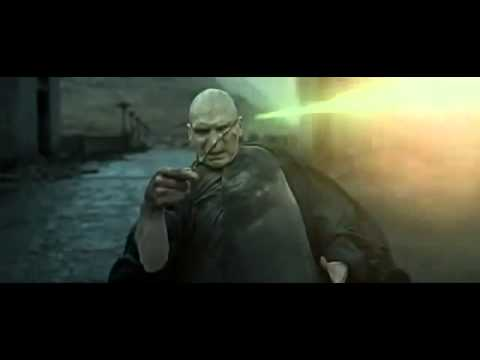 Harry Potter Vs Lord Voldemort Final Battle Harry Potter And The Deathly Hallows Part 2 Youtube