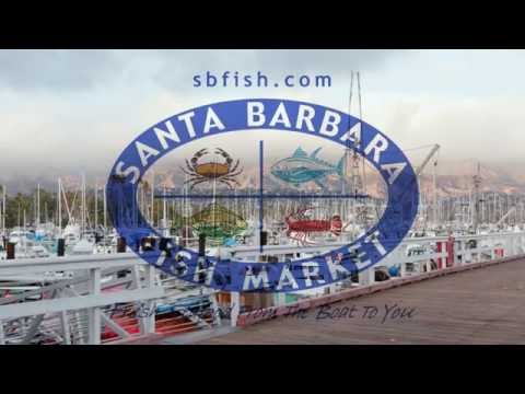 Santa Barbara Fish Market - Behind the Scene - Fresh Seafood From The Boat to You