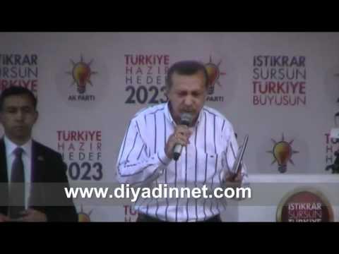 Başbakan Recep Tayyip Erdoğan Ağrı Mitingi