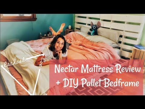 I GOT A NEW BED! DIY PALLET BED