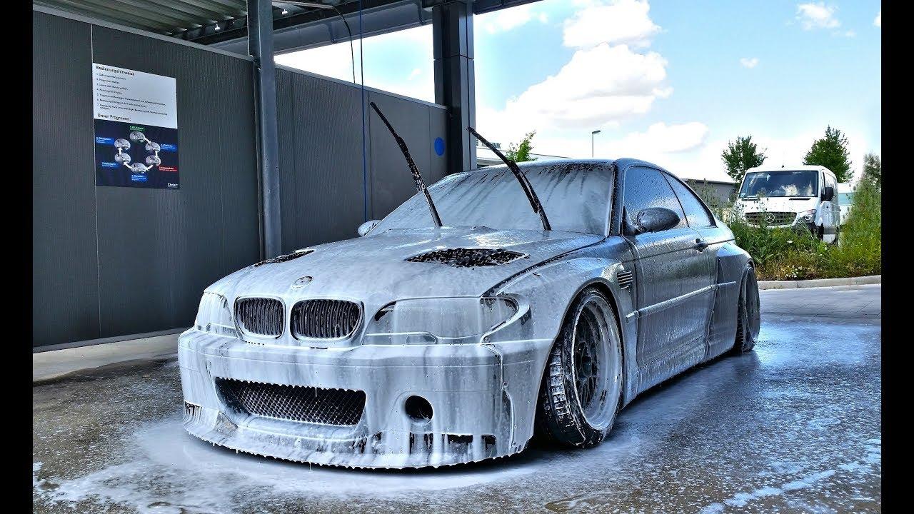 BMW E46 Rocketbunny carwash