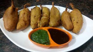 How to make mirchi vada at home | mirchi pakoda | street style pakodas