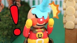 アンパンマンストップモーション「アンパンマン新しい顔だよ!」(子供向けおもちゃアニメ) thumbnail