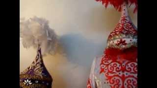Детские нарядные казахские платья.Казахстан.www.richton.kz