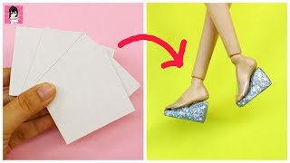 10 AWESOME DIY TO MAKE BARBIE ACCESSORIES