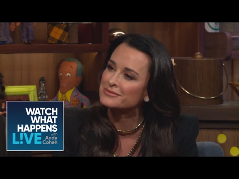 Kyle Richards Asks Andy Who Is The Most Annoying Housewife - Host Talkative - WWHL