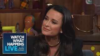 Kyle Richards Asks Andy Who Is The Most Annoying Housewife   Host Talkative   WWHL