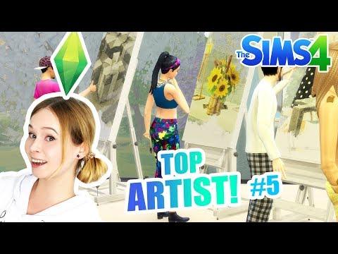 THE SIMS 4 ? TOP ARTIST! #5 DRUGIE ZADANIE! TRUDNE? thumbnail