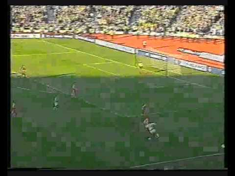celtic 2 aberdeen 0 - league cup final 2000