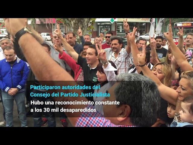 El Día de la Memoria por la Verdad y la Justicia en Varela quedó marcado por el Nunca Más