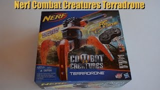 ~Unboxing~ Nerf Combat Creatures Terradrone RC BattleDrone Unboxing Video! ~Unboxing~
