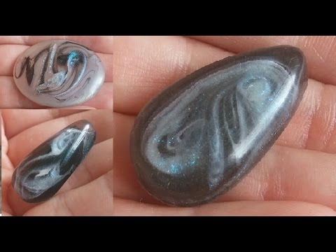 Smoke/ Clouds effect in resin (tutorial/demo)