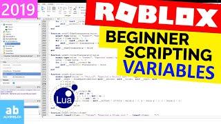 Beginner Roblox Scripting Tutorial 4 - Variables