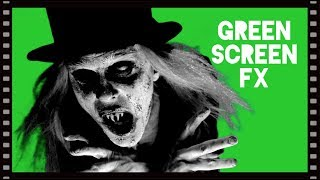 'SILENT FILM VAMPIRE' Free Green Screen FX