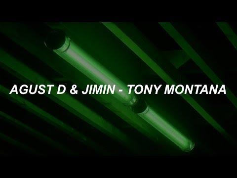 Agust D 'Tony Montana (Feat. Jimin)' Easy Lyrics