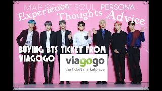 Buying ,,BTS Speak Yourself'' Ticket from Viagogo: Experience + Thoughts + Advice