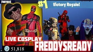 Freddy Krueger (Testing Things Out) - MrK Fortnite Support A Creator Code: Freddysready