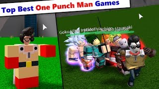 Top Best One Punch Man Games in Roblox