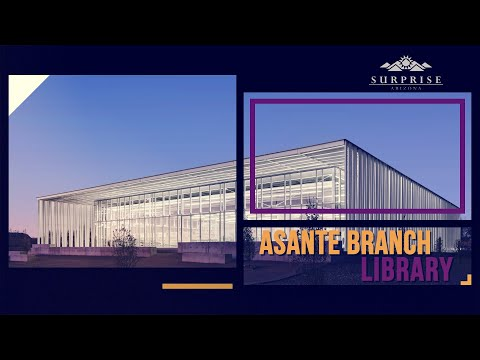 Asante Branch Library video thumbnail