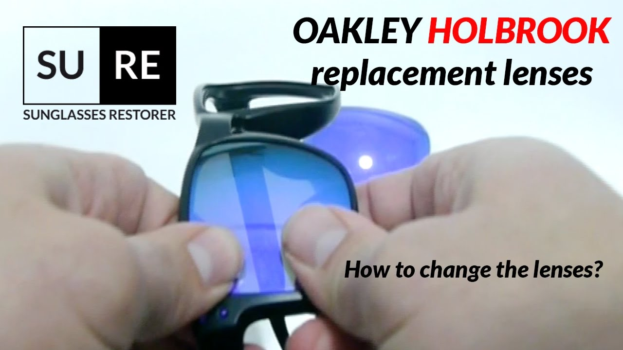 ad8a40ea5226c Oakley Holbrook replacement lenses - Change your lenses and Save Money with  SURE