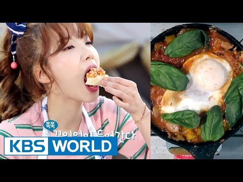 Jisook's Table For One | 지숙이의 혼밥 연구소 - Ep.8 : Eggs in hell [ENG/2017.08.25]