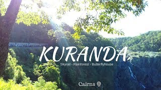 Daytrip KURANDA- Skyrail/ Scenic Railway - Vlog #42