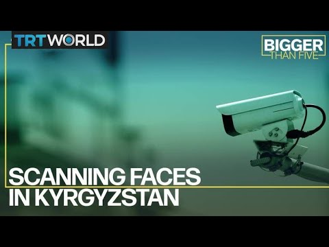 Scanning Faces In Kyrgyzstan
