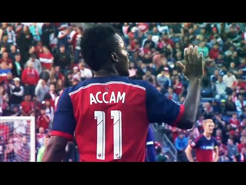 David Accam Preparing for Strong Second Act in MLS