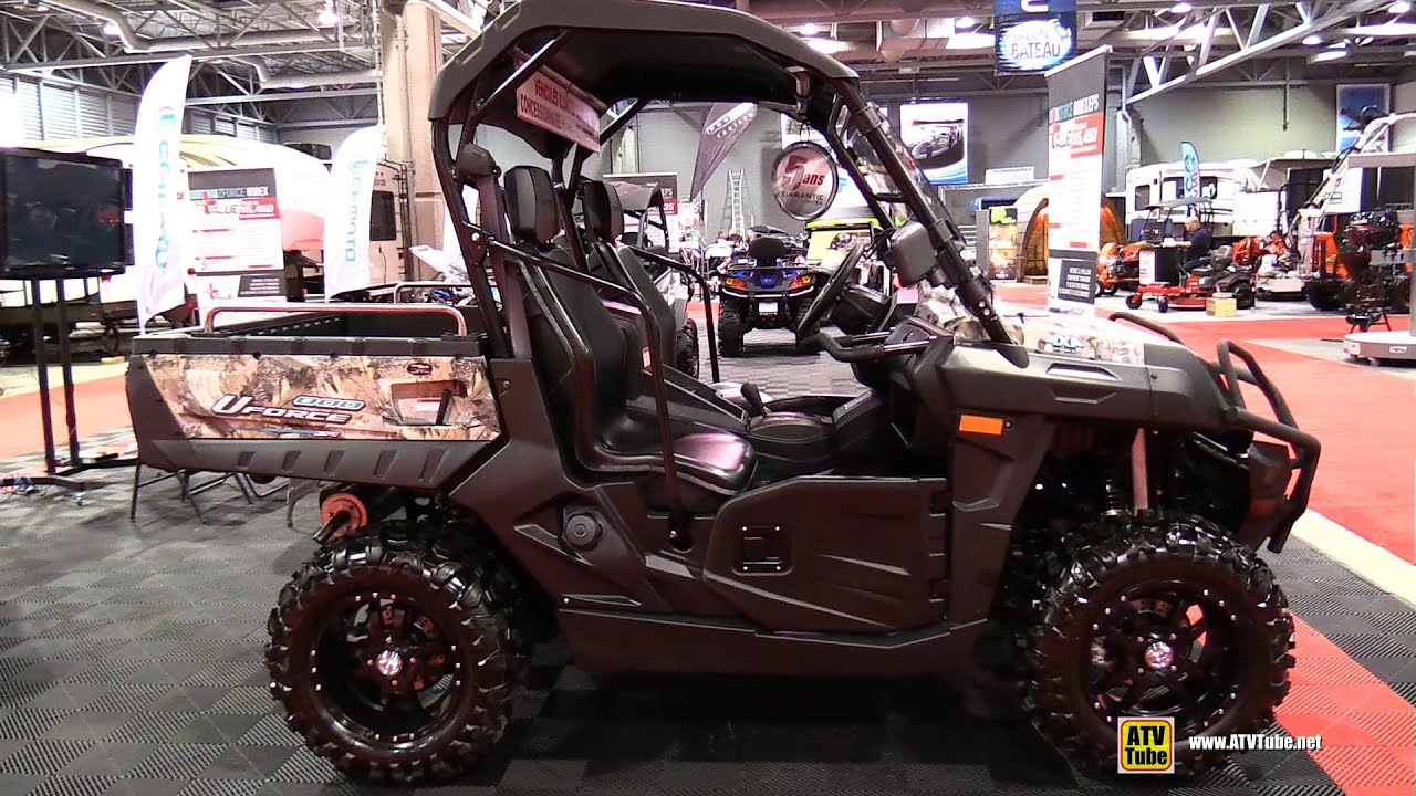2015 cfmoto uforce 800 efi camo utility atv walkaround. Black Bedroom Furniture Sets. Home Design Ideas