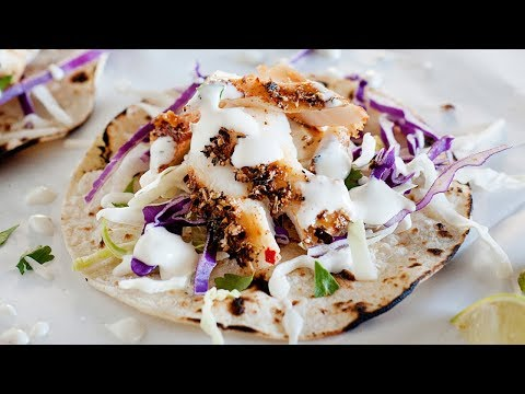 Blackened Fish Tacos | Week 18 Taco Tuesday Cookbook
