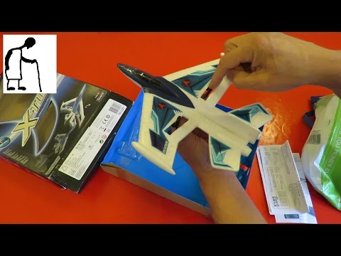 Charity Shop Gold or Garbage? Silverlit X-Twin Jet RC Plane