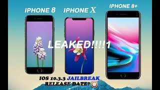 Official iPhone X , 8 , 8 Plus Amazing features leaked 😱 | ios 10.3.3 jailbreak release date.