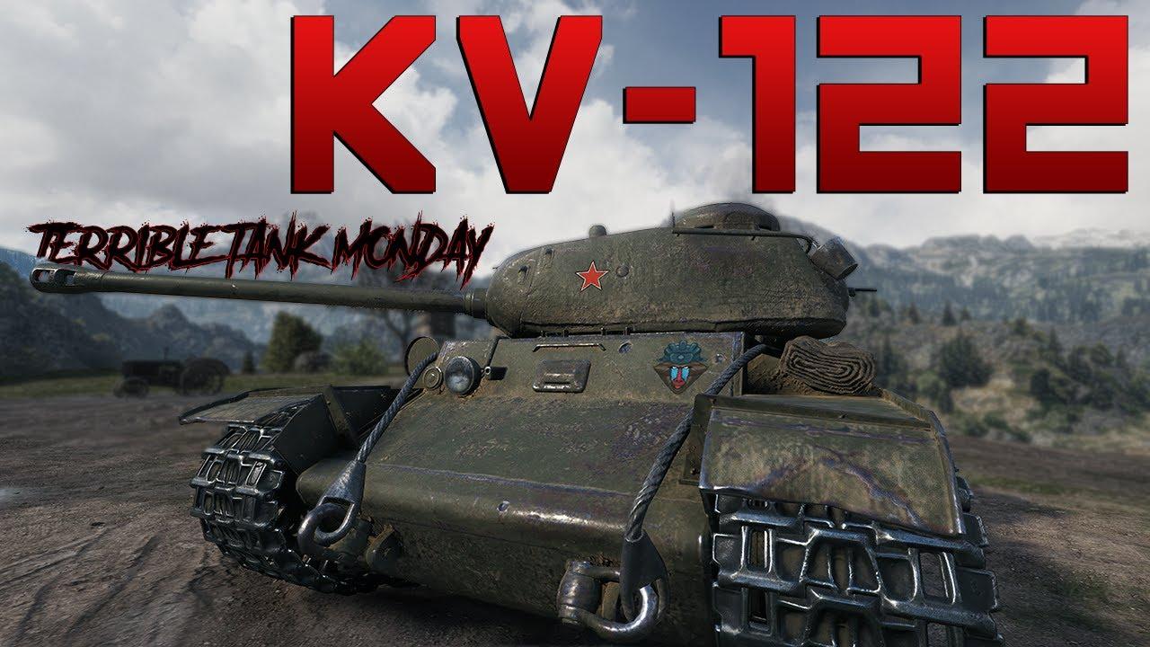 KV-122, oh boy...   World of Tanks