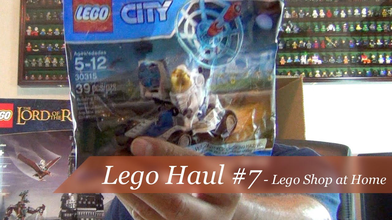 Lego haul 7 lego shop at home youtube Shop at home