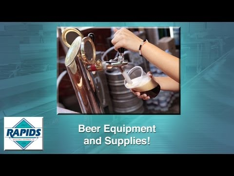 Beer Supplies & Draft Beer Equipment From RapidsWholesale.com