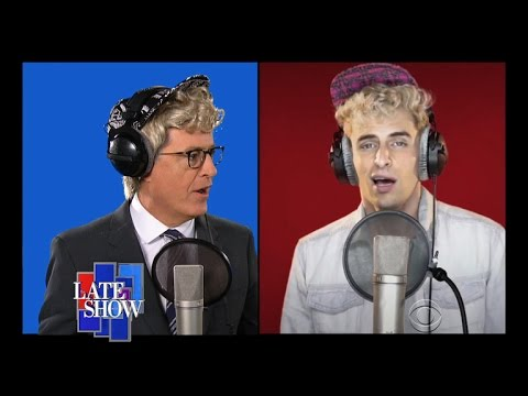 """The Late Show's """"Fight Song"""" feat. John Oliver"""