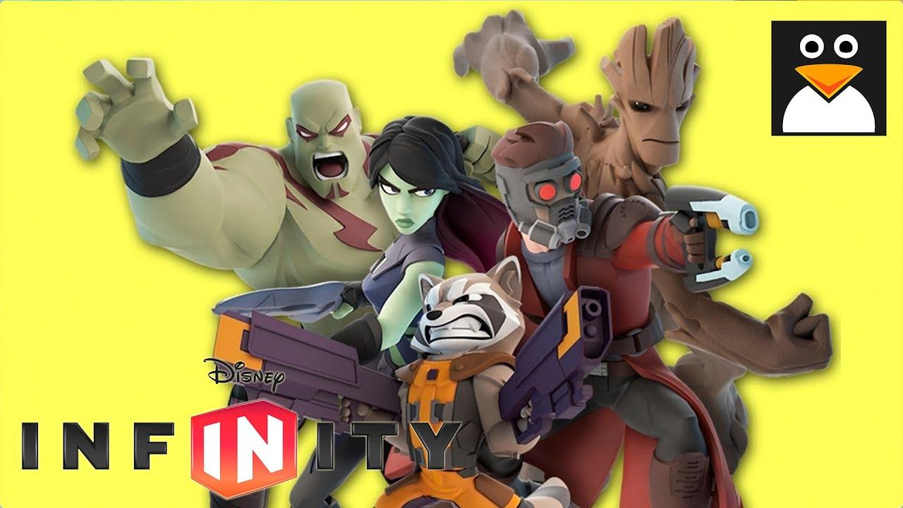 ガーディアンズオブギャラクシー 英語字幕 | マーベル スーパーヒーロー ゲームプレイ 動画 (ディズニー インフィニティ2.0)