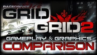GRID 2 VS Race Driver Grid - Comparison Graphics & Gameplay (PC 1080p)