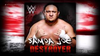 "WWE NXT: ""Destroyer"" [iTunes Release] by CFO$ ► Samoa Joe Theme Song"