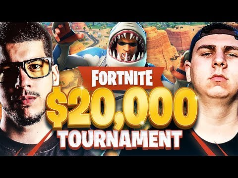 Fortnite *Season 5* $20,000 YouTuber Tournament!!