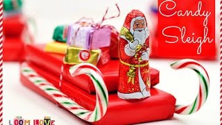 Make A Candy Sleigh For The Holidays