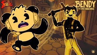 THE FINAL CHAPTER ! BENDY AND THE INK MACHINE Chapter 5 Let's Play with Combo Panda